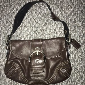 Coach Bags - Authentic Coach Brown Leather Purse
